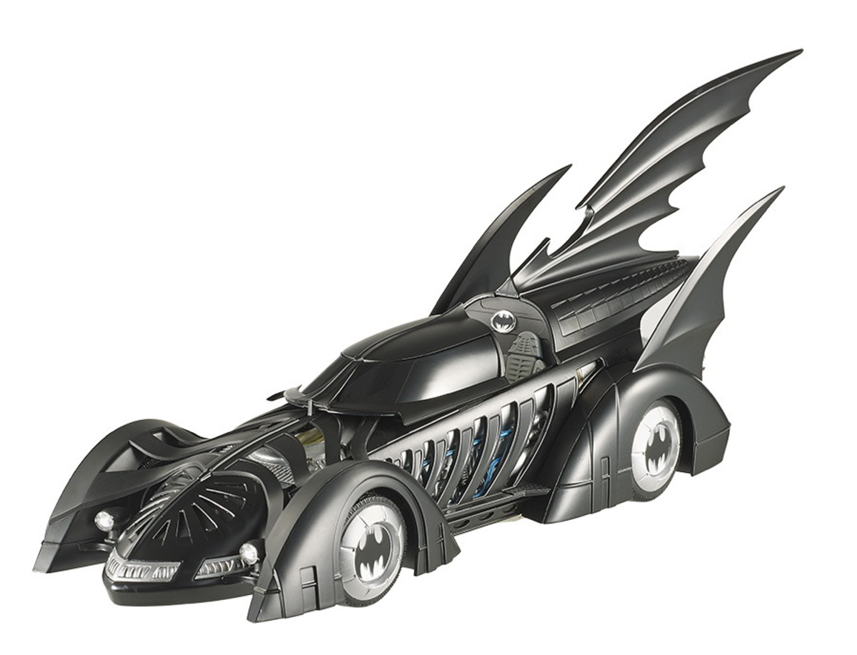 dekorace (automobil) Batman - Forever Diecast Model 1/18 1995 Batmobile Hotwheels Elite Edition - MA
