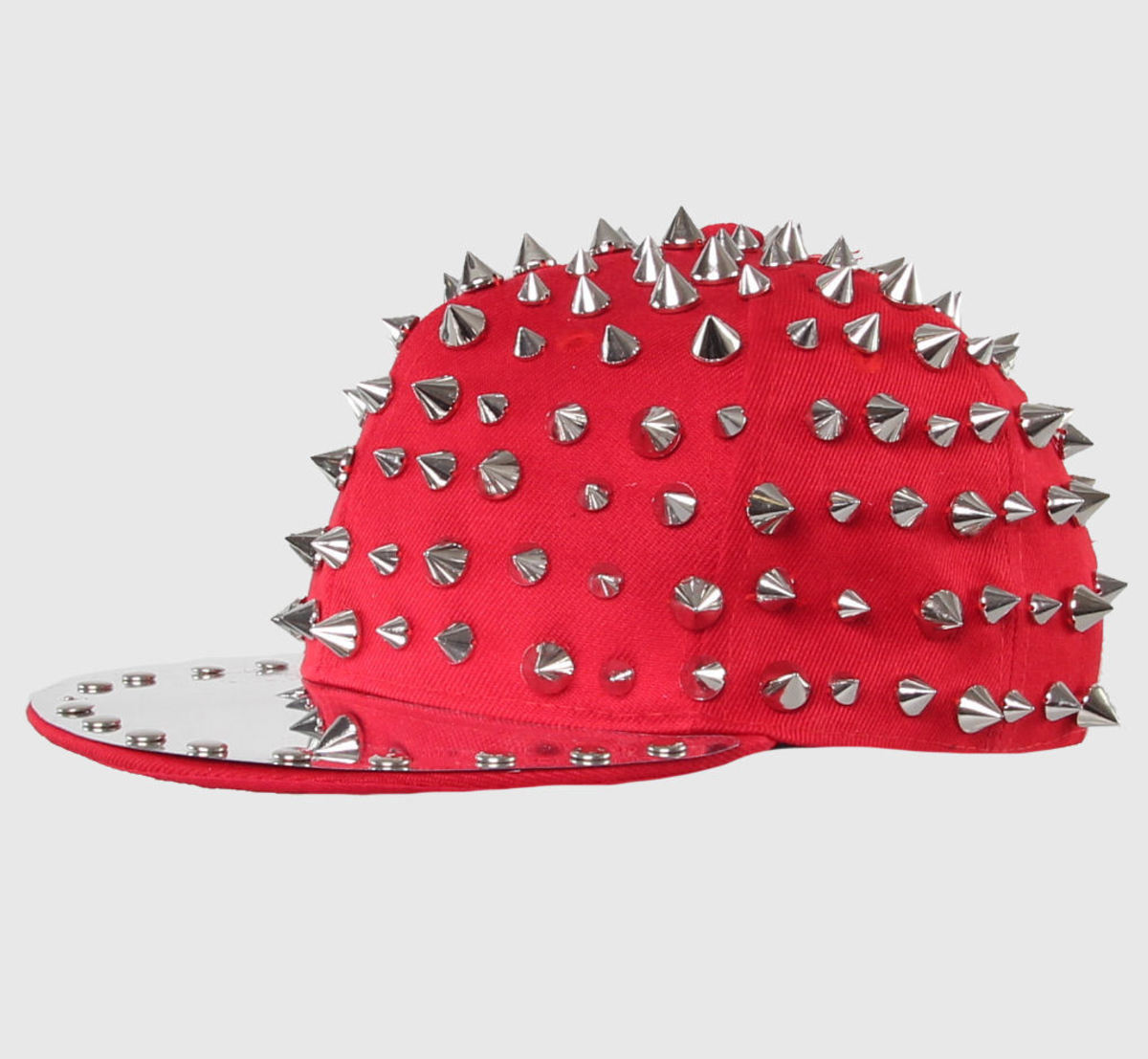 kšiltovka CUPCAKE CULT - Full Spike - Red/Silver