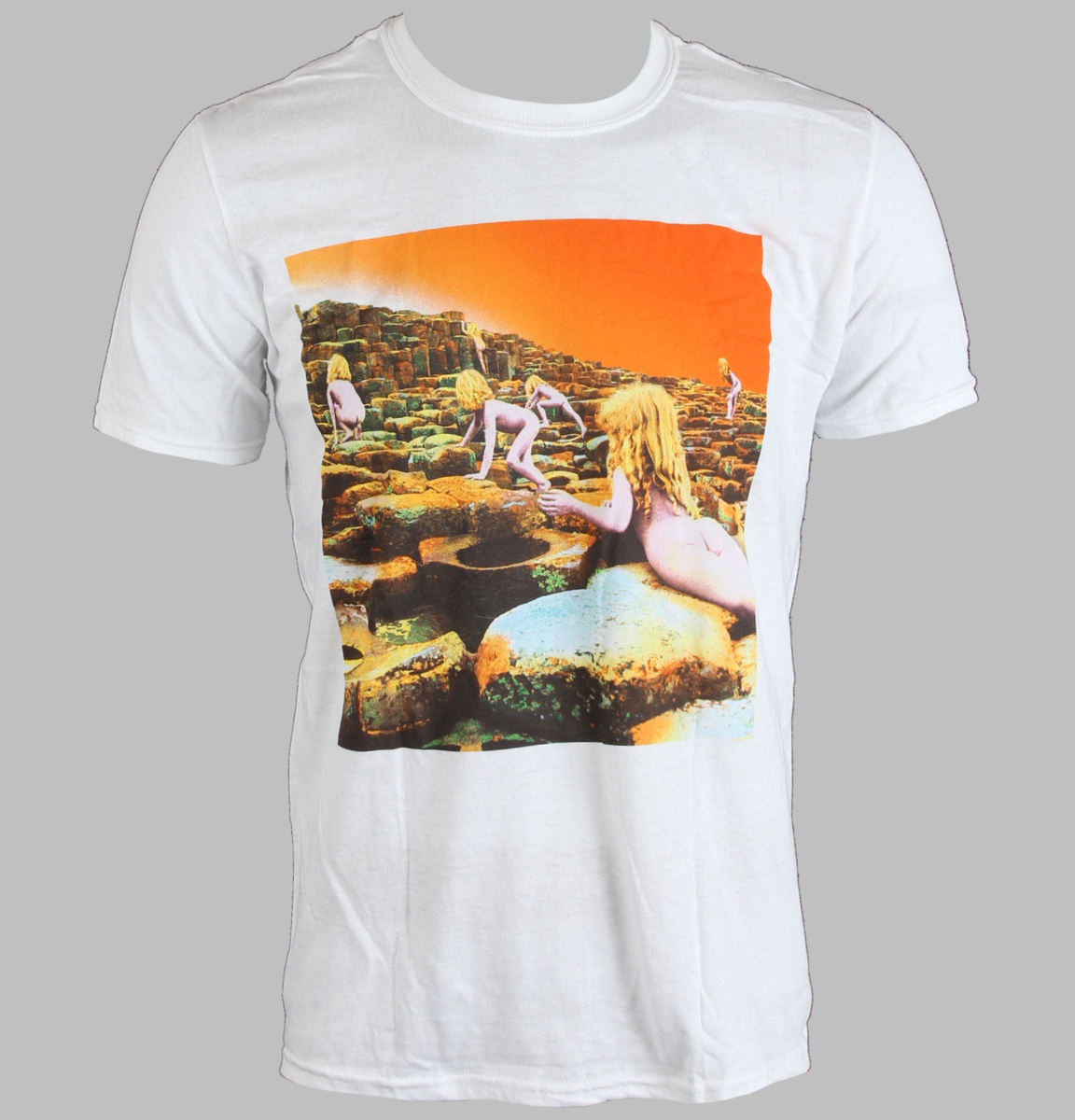 tričko pánské LED ZEPPELIN - WHITE HOTH ALBUM COVER - WHITE - LIVE NATION - PELZE093