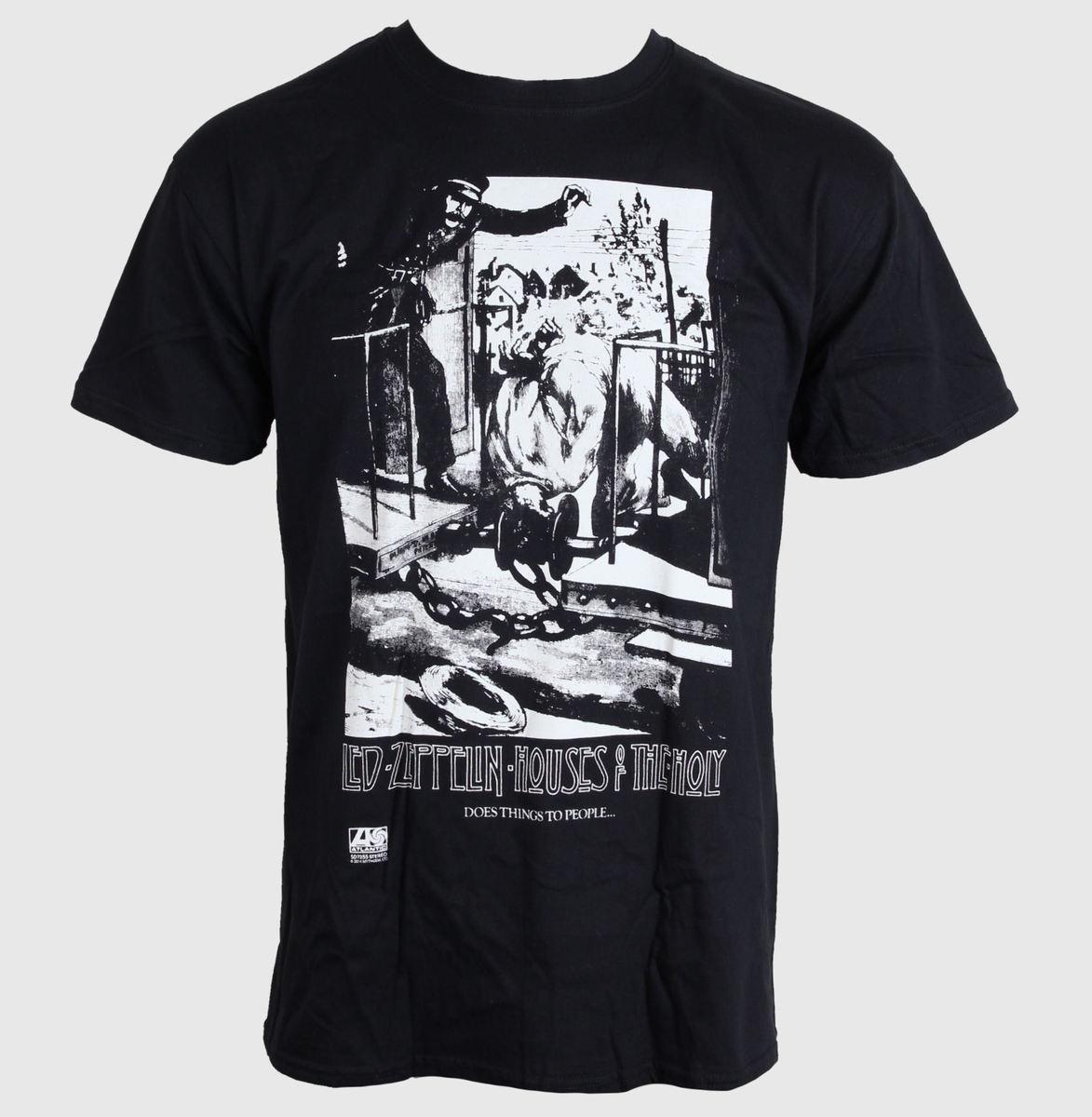 tričko pánské LED ZEPPELIN - PROMO ADD - BLACK - LIVE NATION - PELZE101