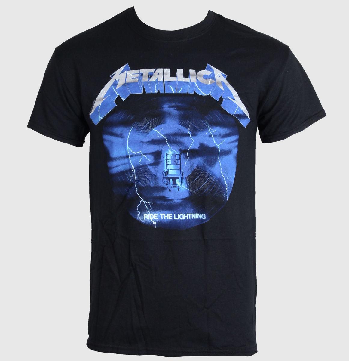 tričko pánské METALLICA - RIDE THE LIGHTNING 3 - BLACK - LIVE NATION - PEMTL077