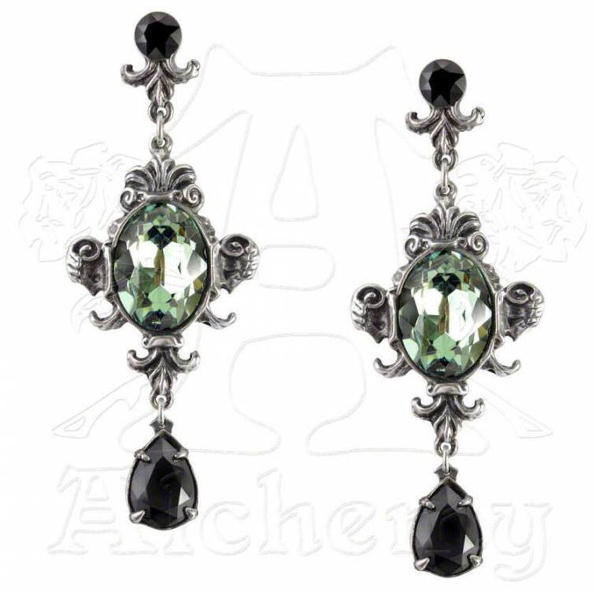 náušnice ALCHEMY GOTHIC - Queen of the Night - E273