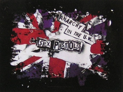 vlajka Sex Pistols - Anarchy In The UK - HFL818