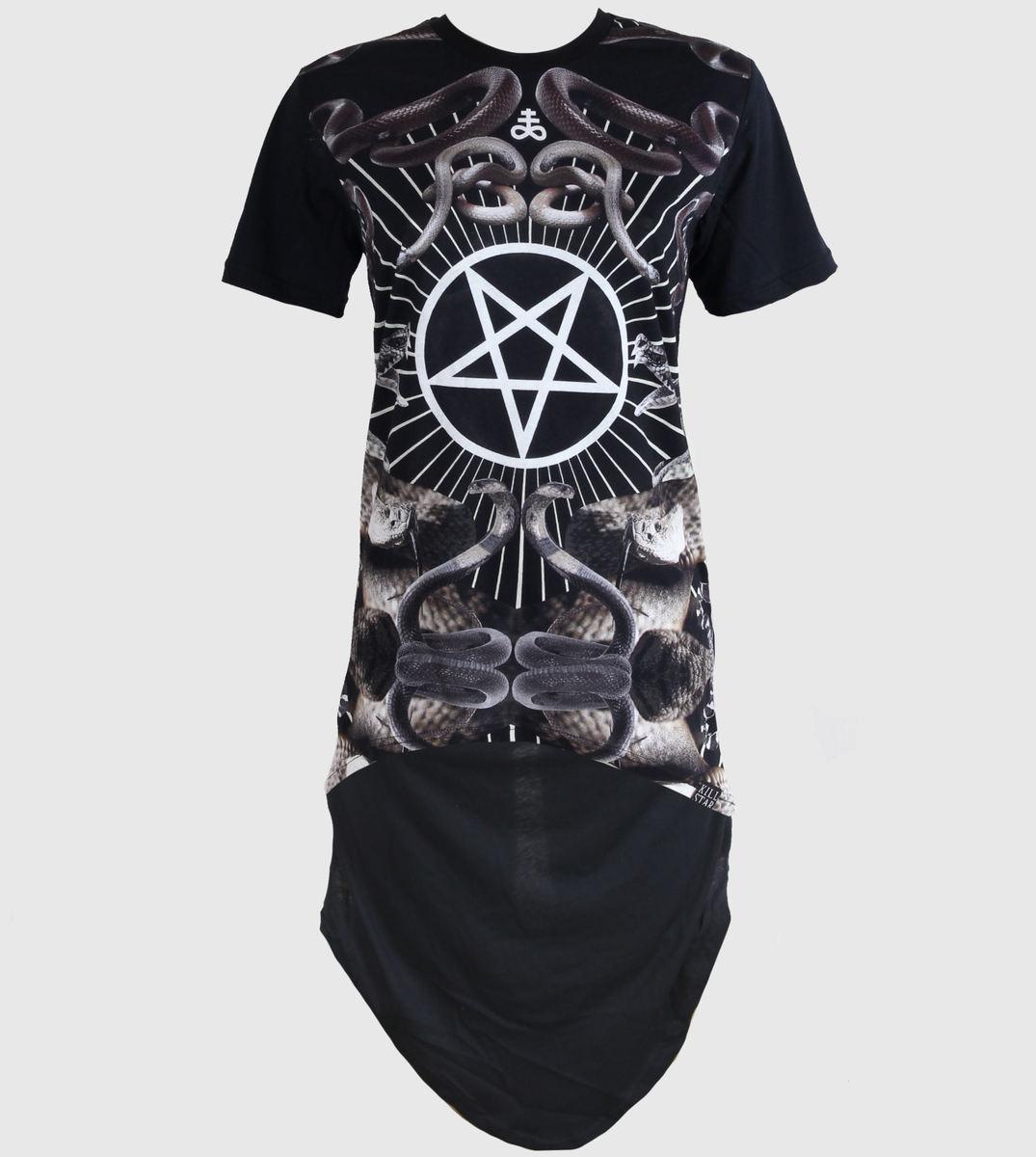 šaty dámské (tunika) KILLSTAR - Serpentine - Black - KIL236 M