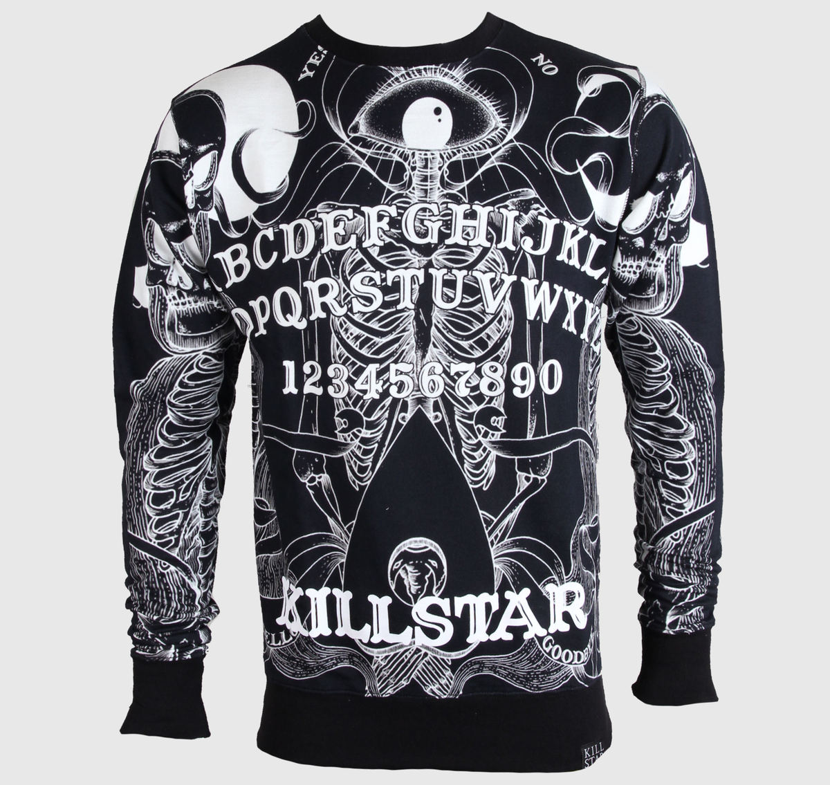 mikina (unisex) KILLSTAR - Boardgame - Black