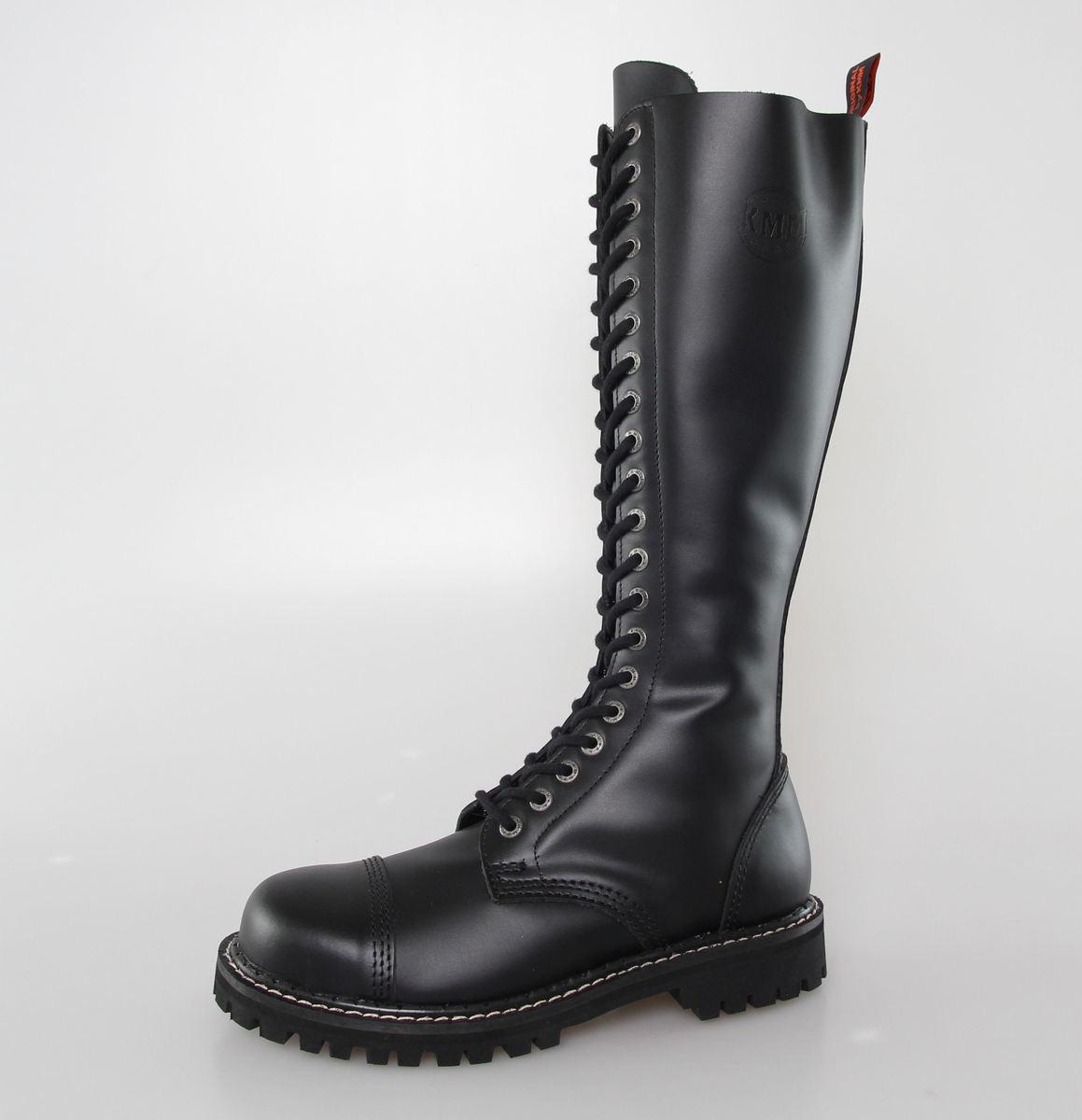 boty KMM 20 dírkové - Black - 200