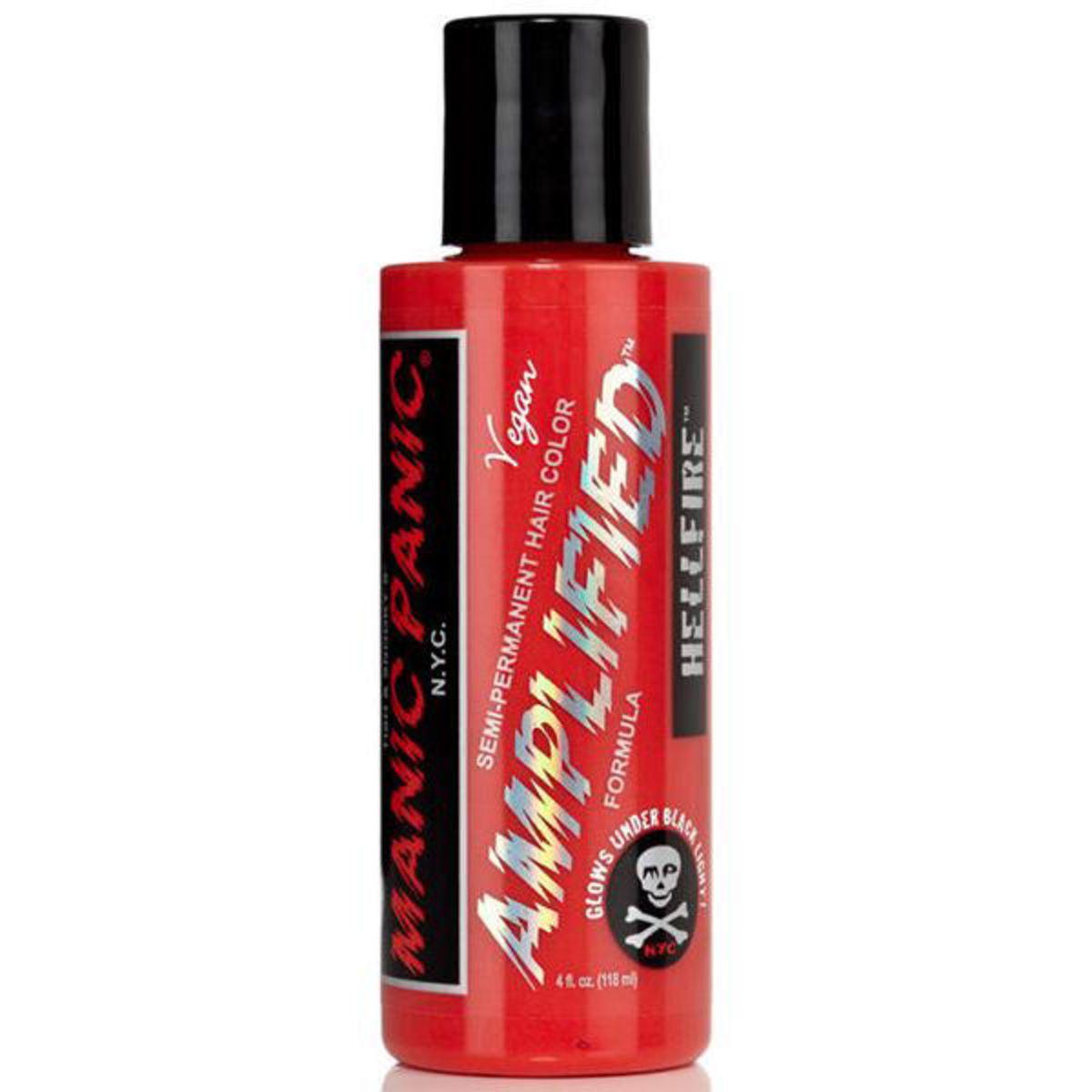 barva na vlasy MANIC PANIC - Amplified Hellfire Red