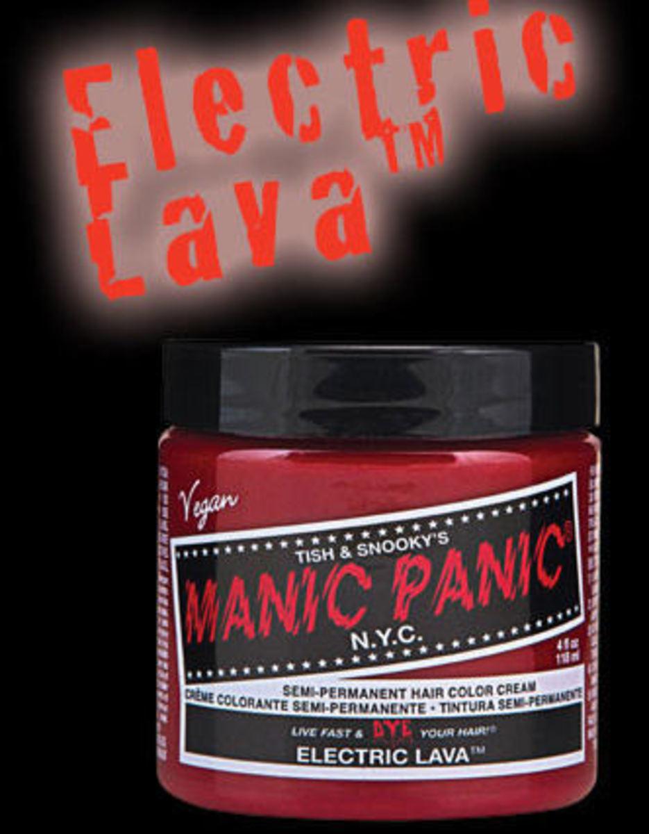 barva na vlasy MANIC PANIC - Classic - Electric Lava