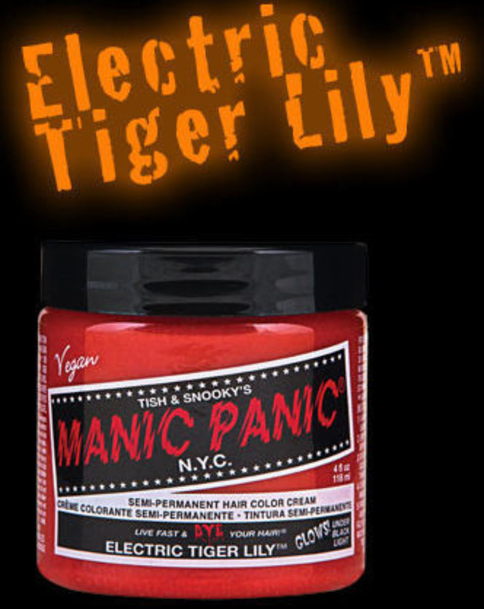 barva na vlasy MANIC PANIC - Classic - Electric Tiger Lily