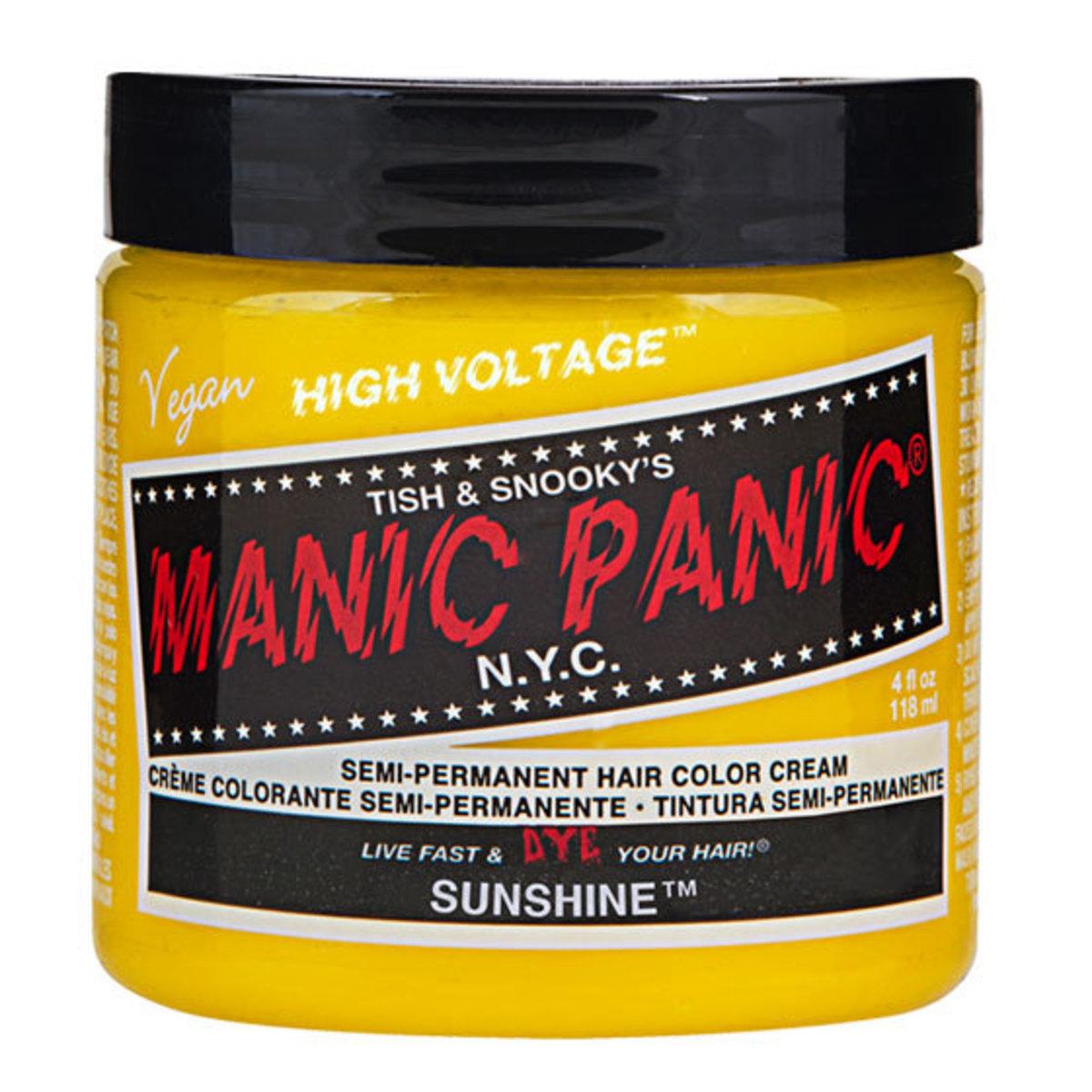 barva na vlasy MANIC PANIC - Classic - Sunshine