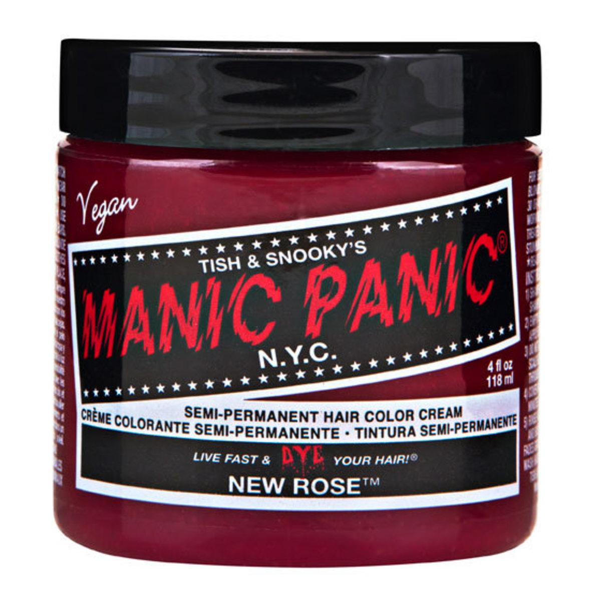 barva na vlasy MANIC PANIC - Classic - New Rose