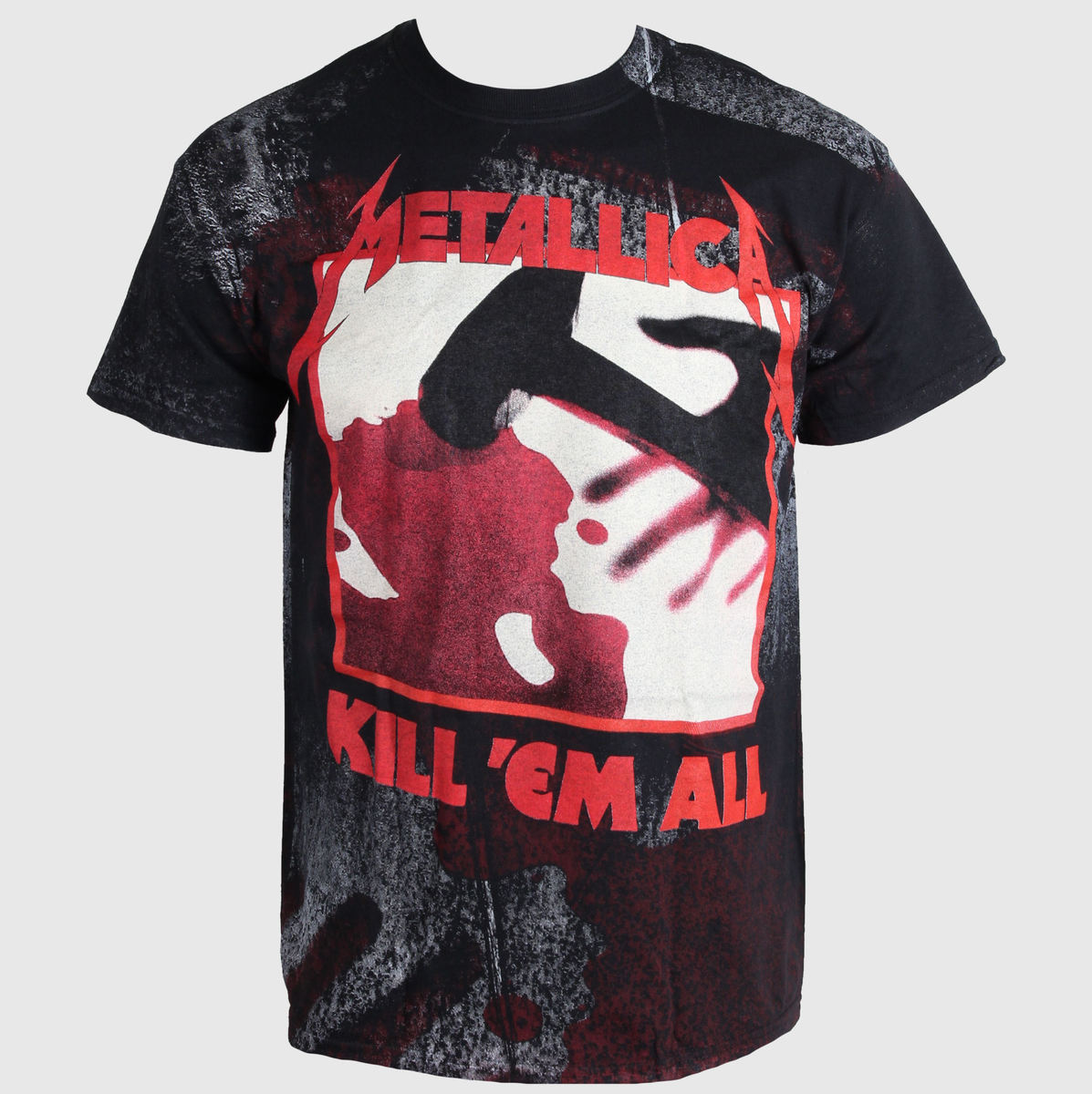 tričko pánské Metallica - In - Grained Kill Em All - Over Premium - LIVE NATION - PEMTL1000