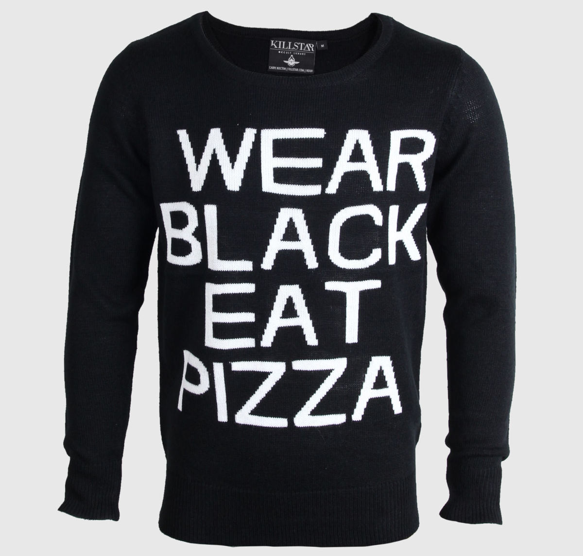 svetr (unisex) KILLSTAR - Pizza - Black
