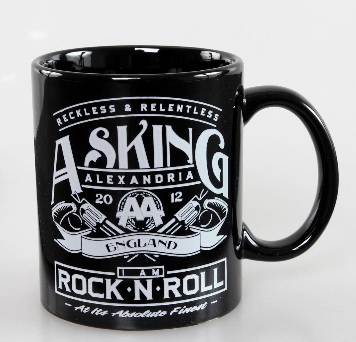 hrnek Asking Alexandria - Rock N Roll - ROCK OFF - ASKMUG01