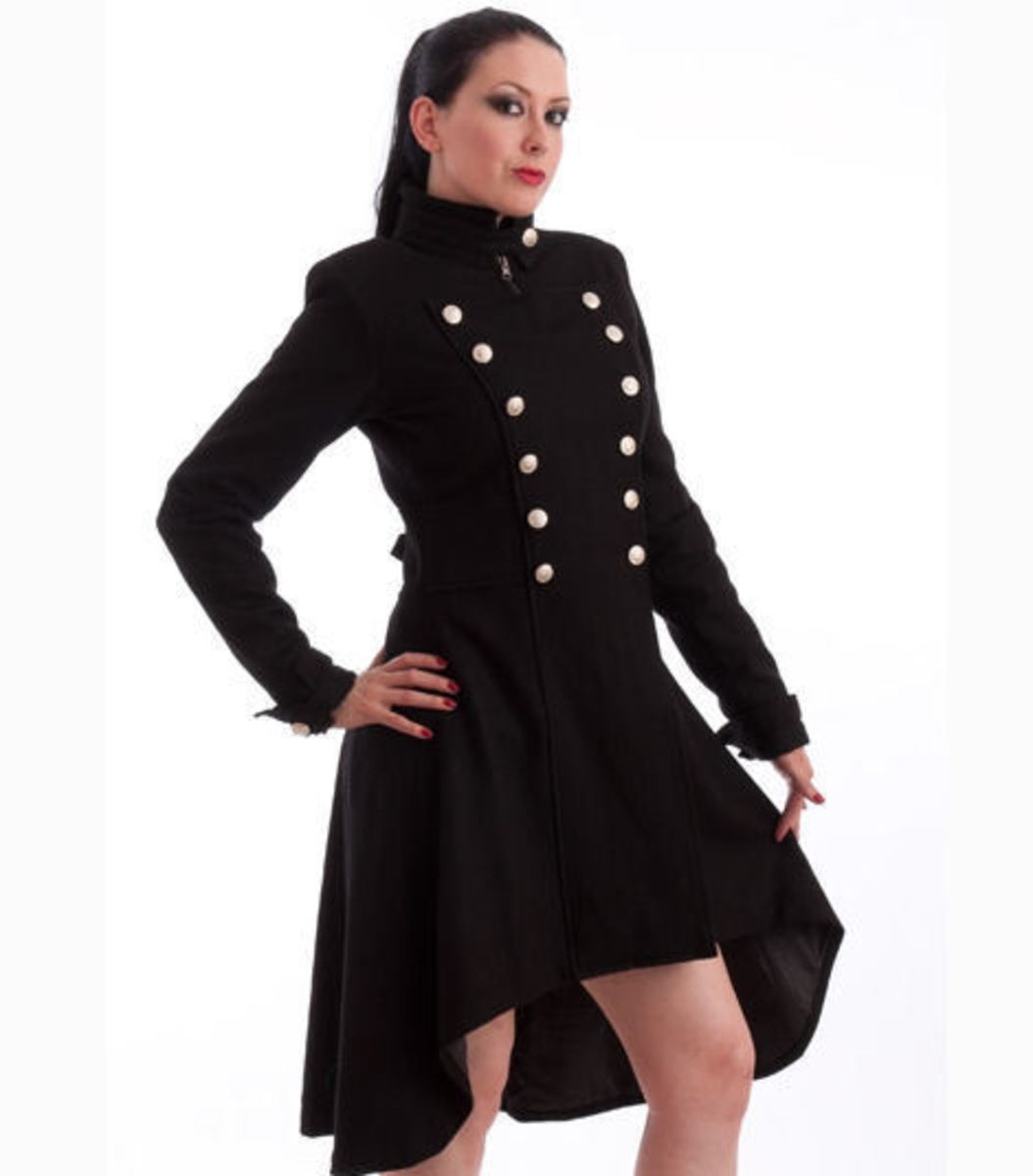 kabát dámský