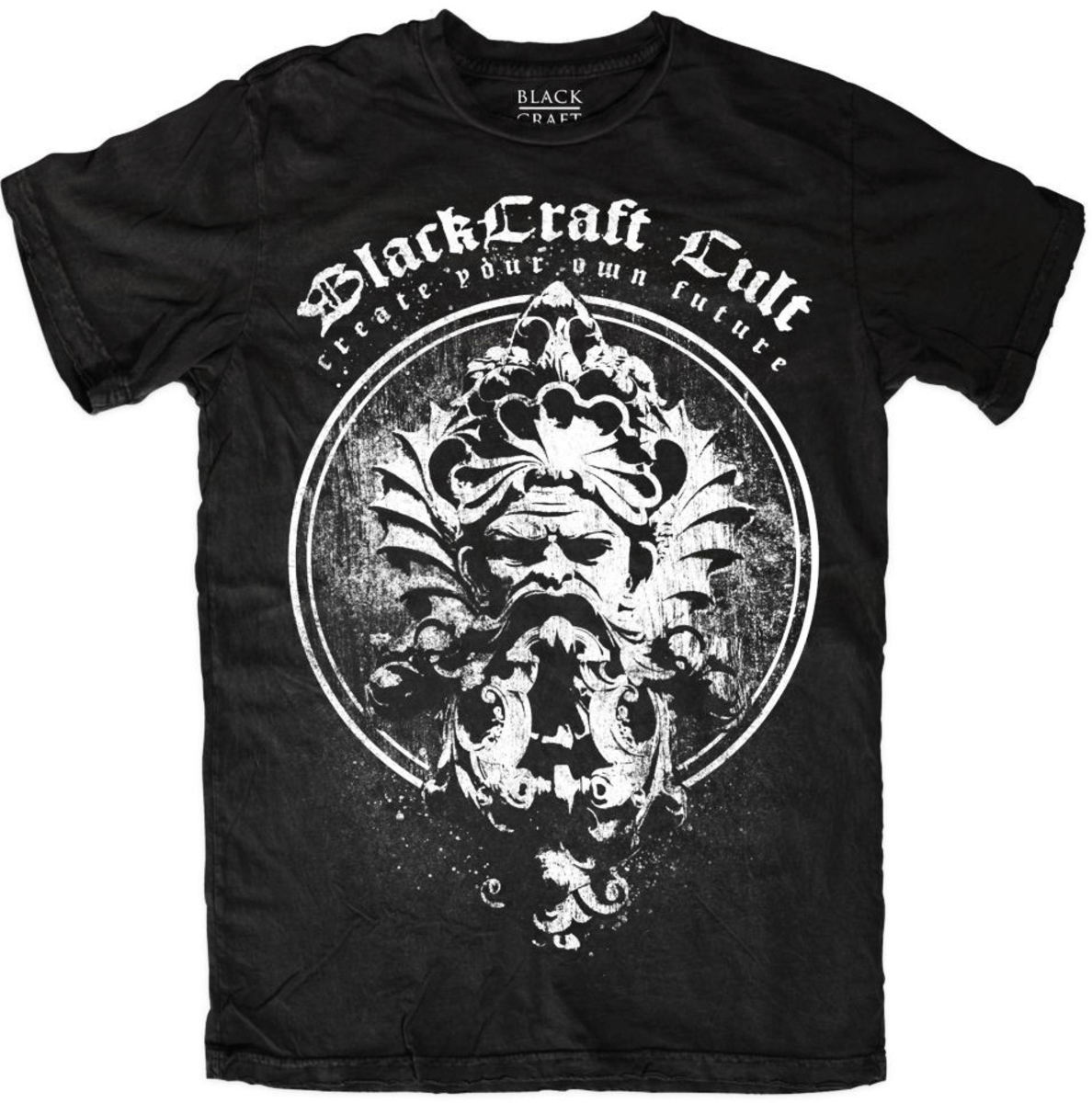 tričko pánské BLACK CRAFT - Visionary Circle - Black - MT099VE