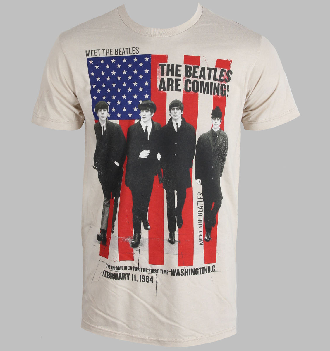 BRAVADO Beatles Are Coming Sand černá