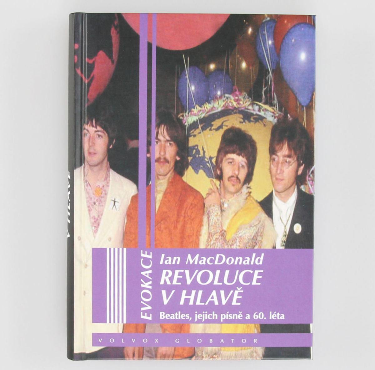 kniha Revoluce v hlavě - Ian MacDonald