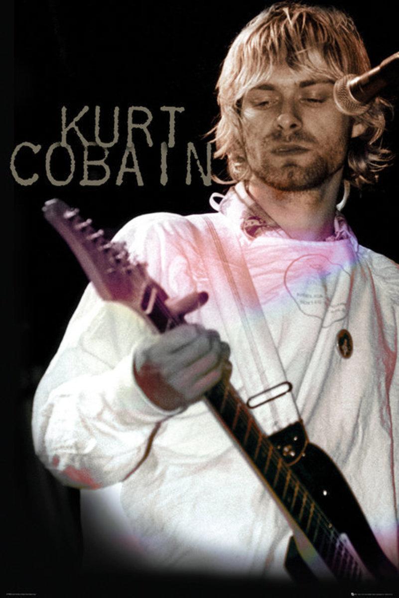 plakát Kurt Cobain