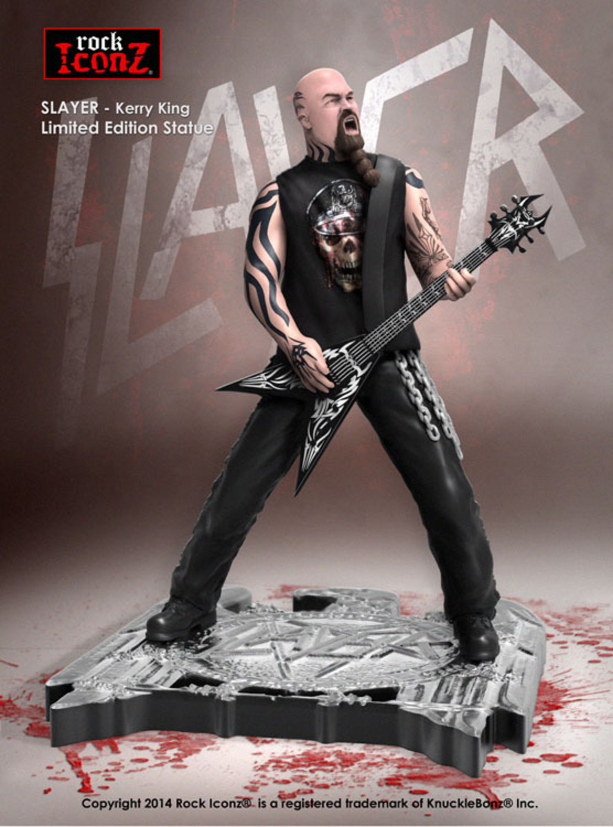 figurka Slayer - Rock Icon Statue - Kerry King - KBSLKK100
