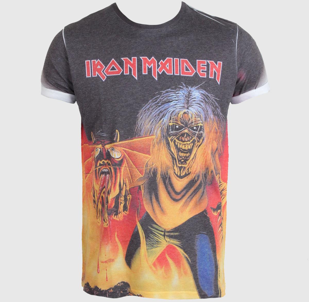 tričko pánské Iron Maiden - NOTB - ROCK OFF - IMPSB01