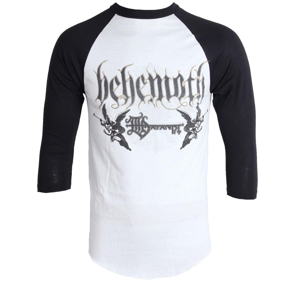 tričko pánské s 3/4 rukávem Behemoth - Band Logo - JSR - BEH184