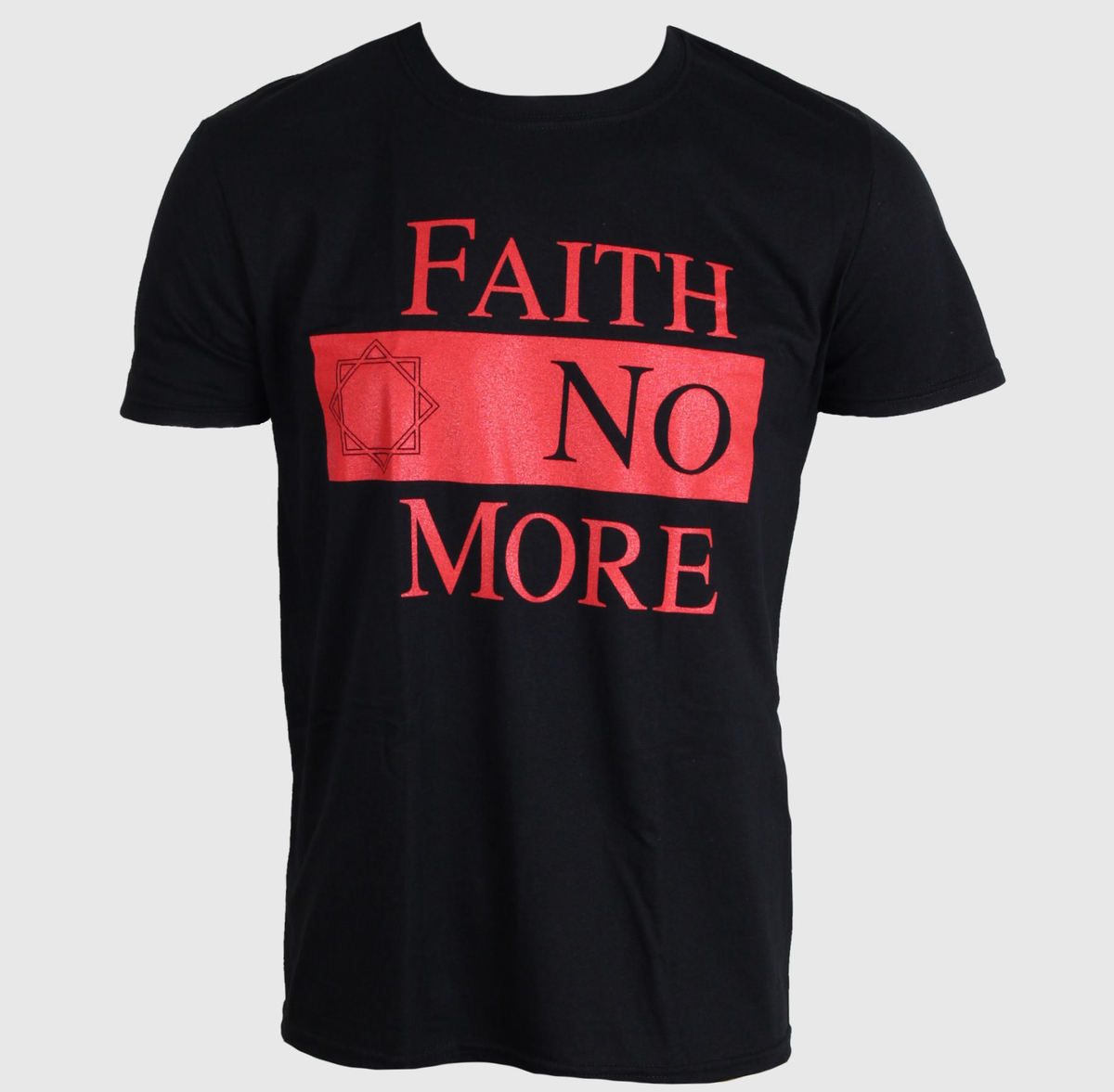 LIVE NATION Faith no More Star Logo černá