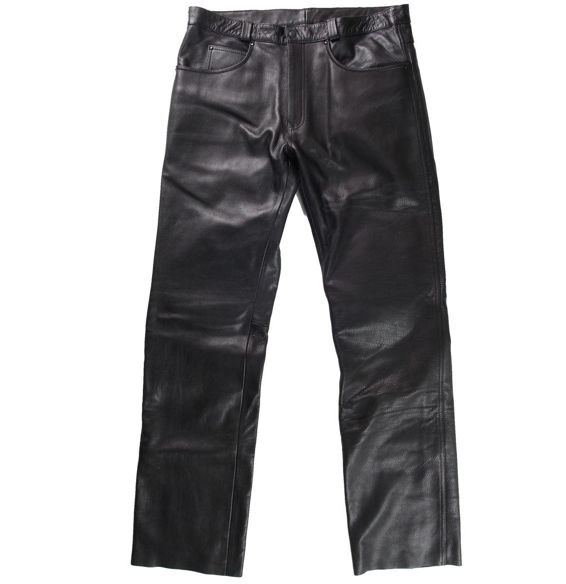 kalhoty pánské FORBIKERS - Black - FOR03