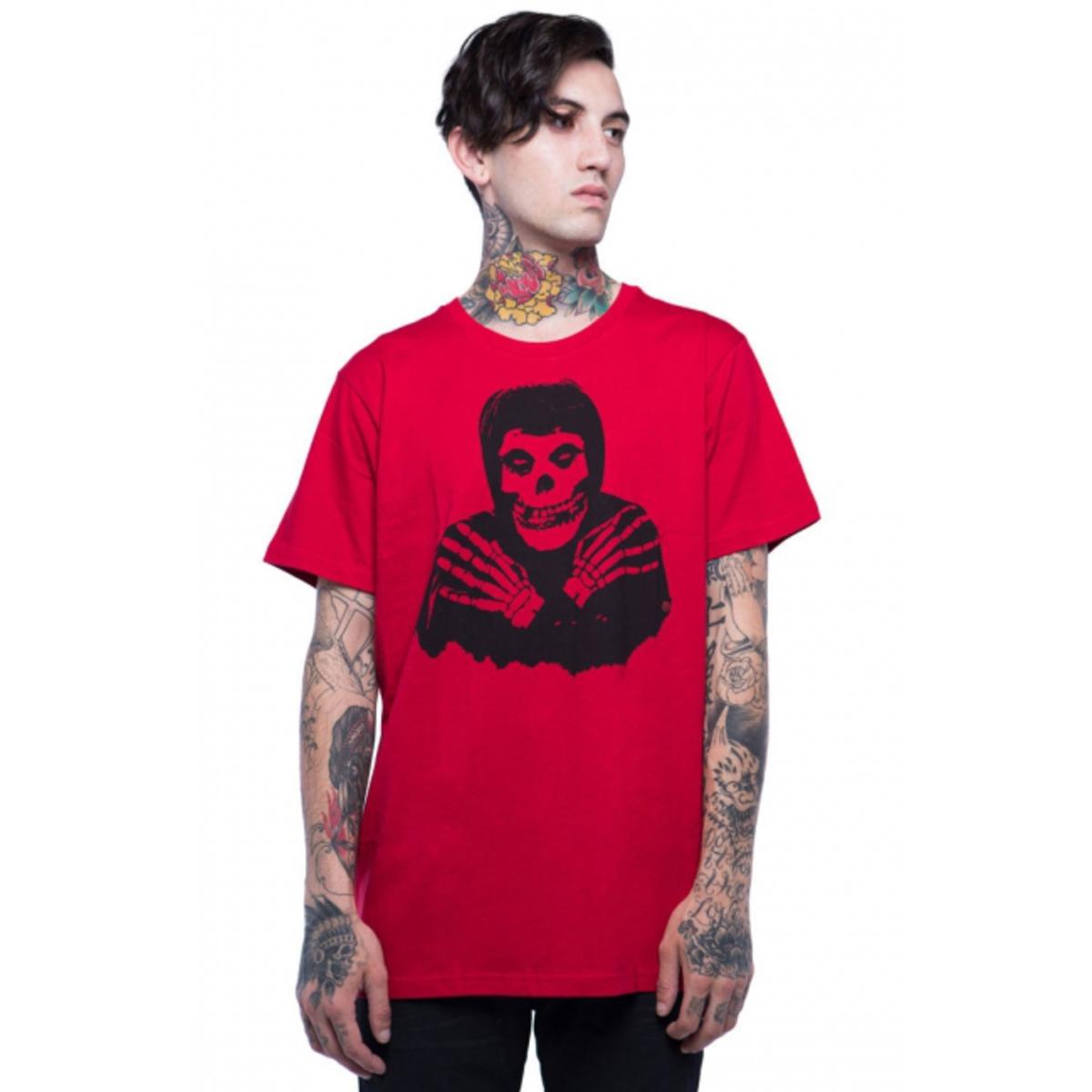 tričko pánské IRON FIST - Misfits - Red - IFMSSST007