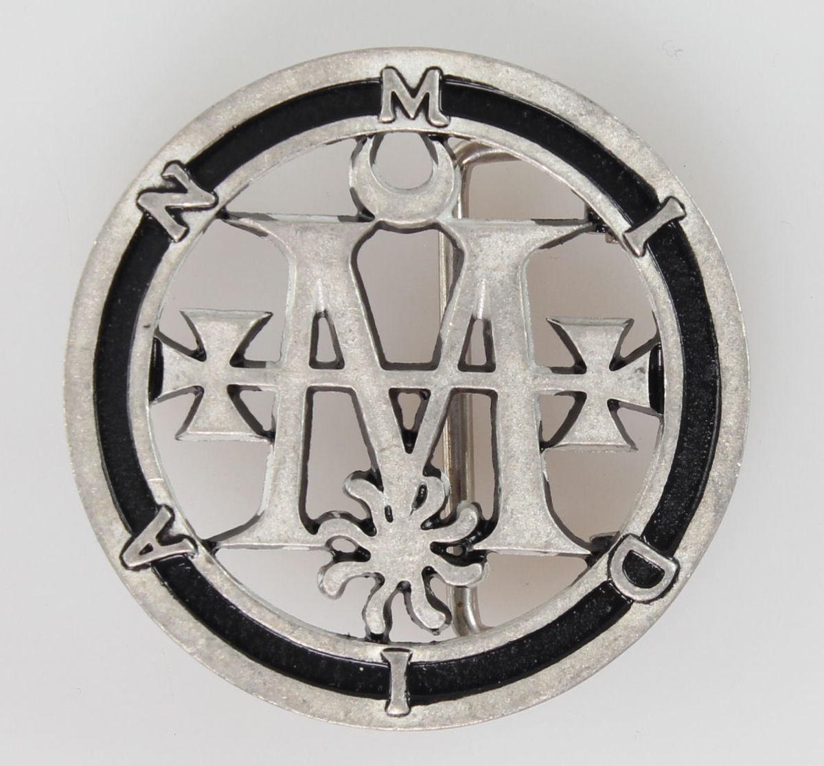 přezka Cradle Of Filth - Midian Seal - 95038100