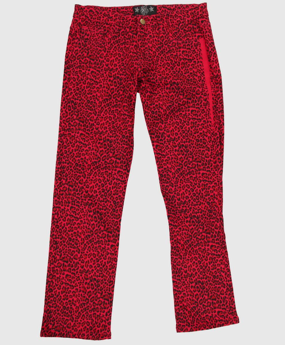 kalhoty dámské COLLECTIF - Red - CL02