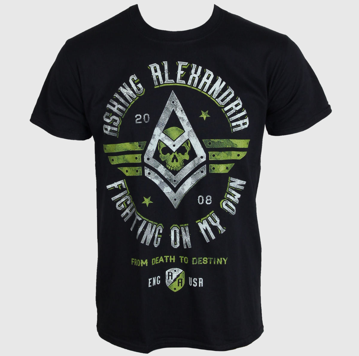 tričko pánské Asking Alexandria - Fight - PLASTIC HEAD - PH8931