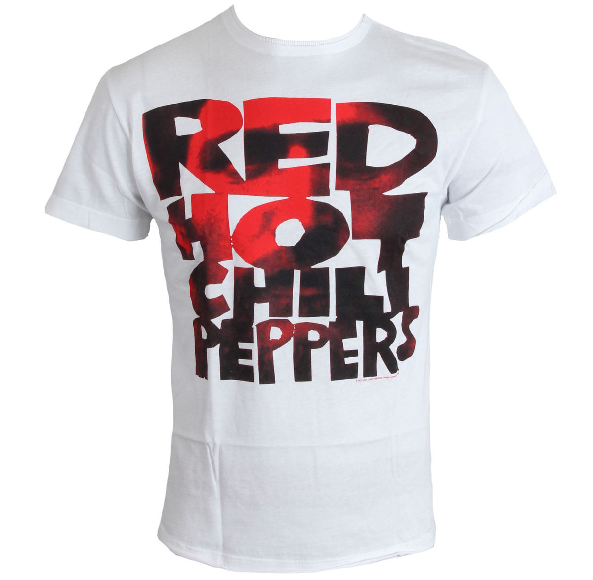 tričko pánské Red Hot Chilli Peppers - Type Face Fill - White - AMPLIFIED - ZAV210CPF