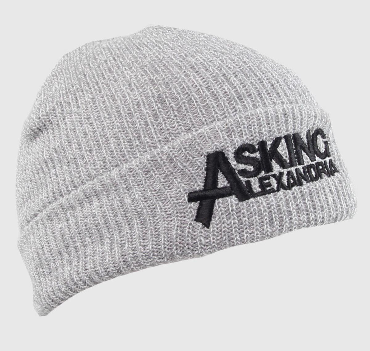 kulich Asking Alexandria - Logo - Grey - PLASTIC HEAD - PHHAT083