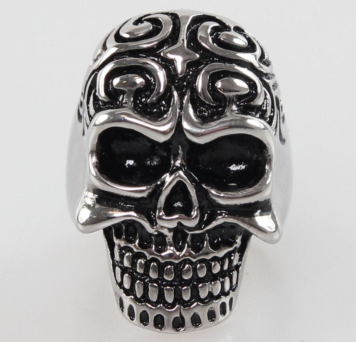 prsten Skull - NS037 R