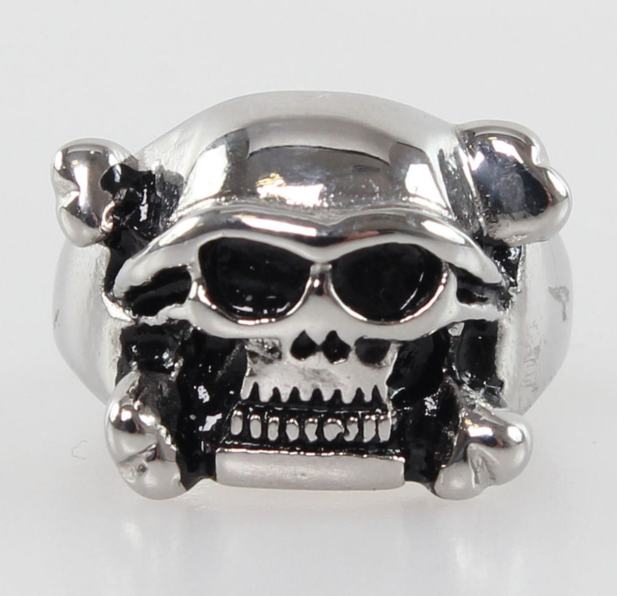 prsten Skull - NS041 Z