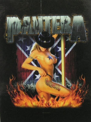 vlajka Pantera - Girl South - HFL0848