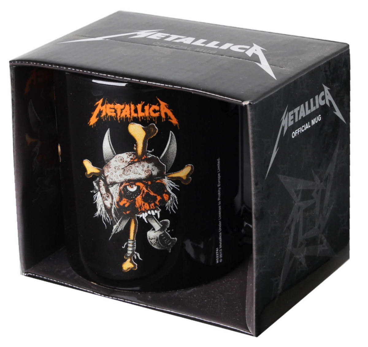 hrnek Metallica - Pirate - Black - PYRAMID POSTERS - MG22761