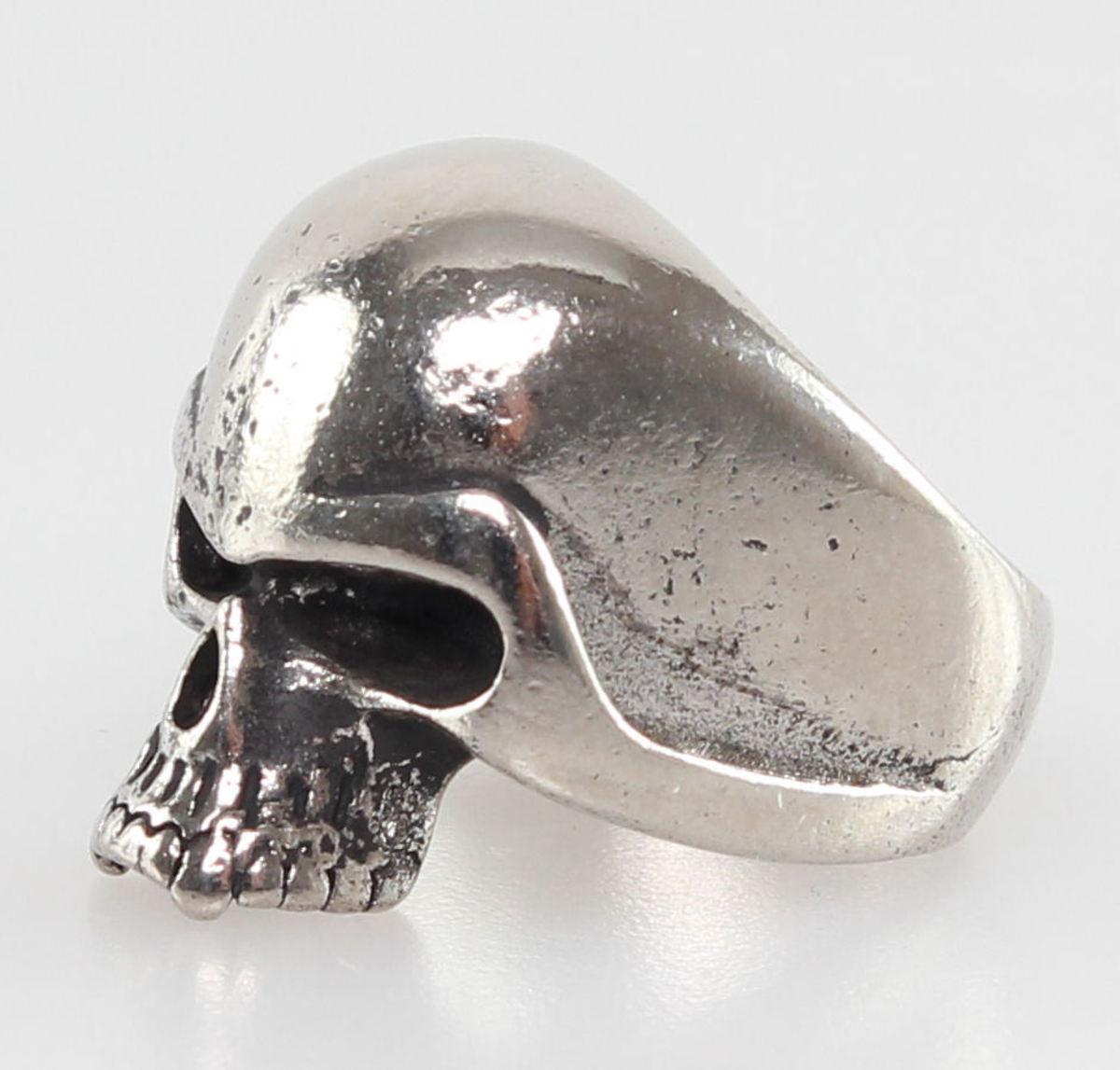 prsten SKULL - PSY124 T