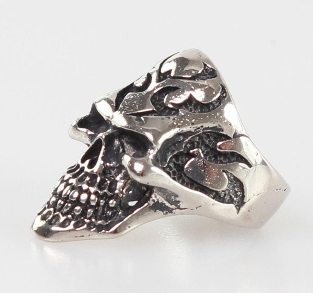 prsten SKULL - PSY126 X