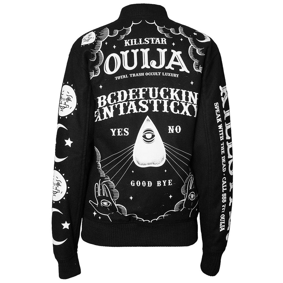 bunda pánská KILLSTAR - Ouija Wool - Black