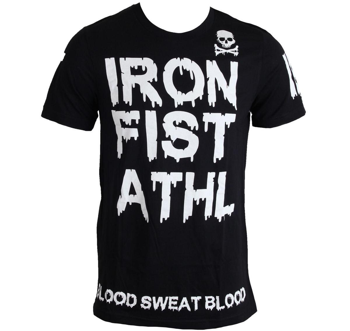 tričko pánské IRON FIST - Blood Drip - Black - IF103161