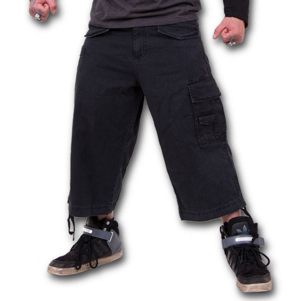 kraťasy 3/4 pánské SPIRAL - Metal Streetwear - P003M705