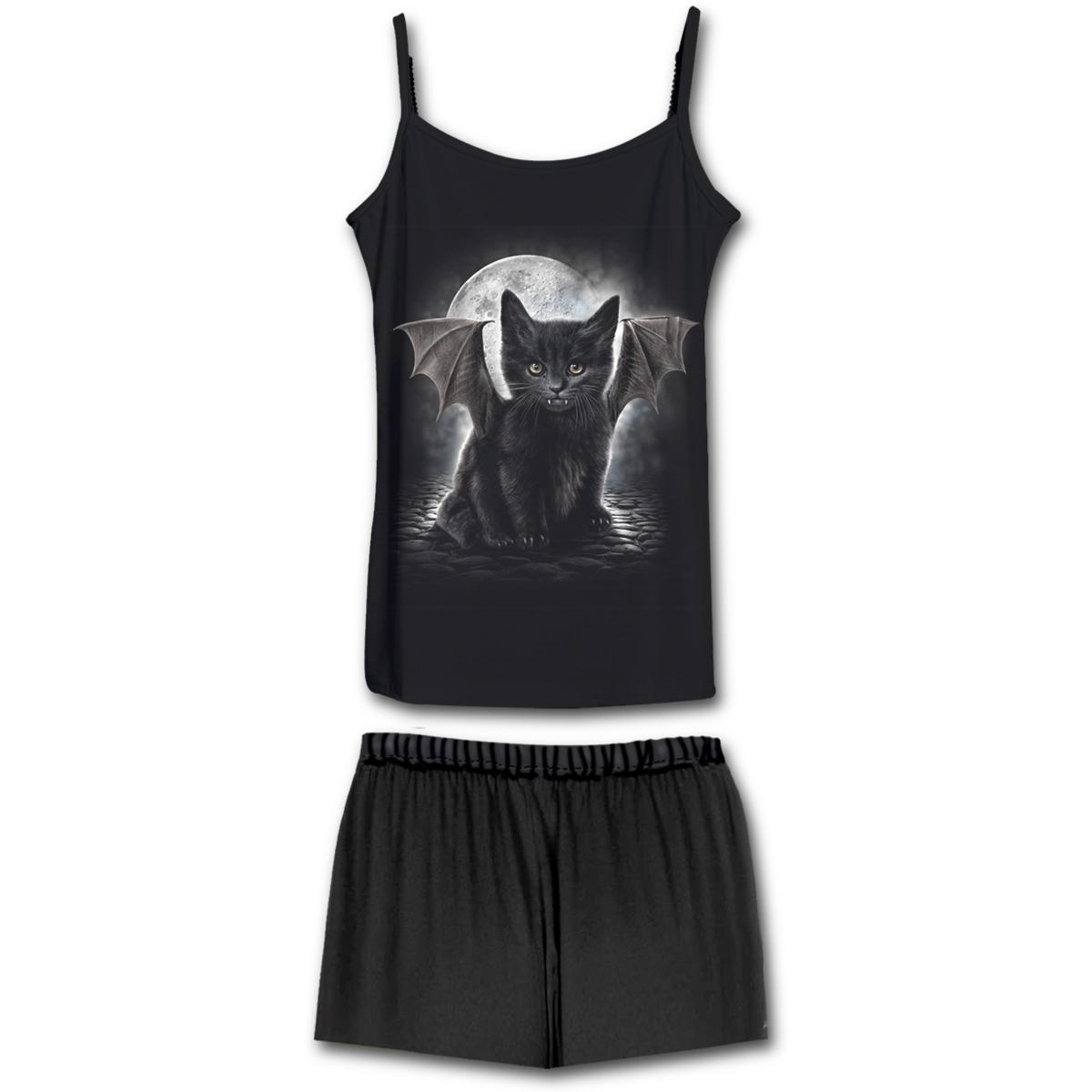 komplet na spaní dámský (pyžamo) SPIRAL - White Magic - F023G601 S