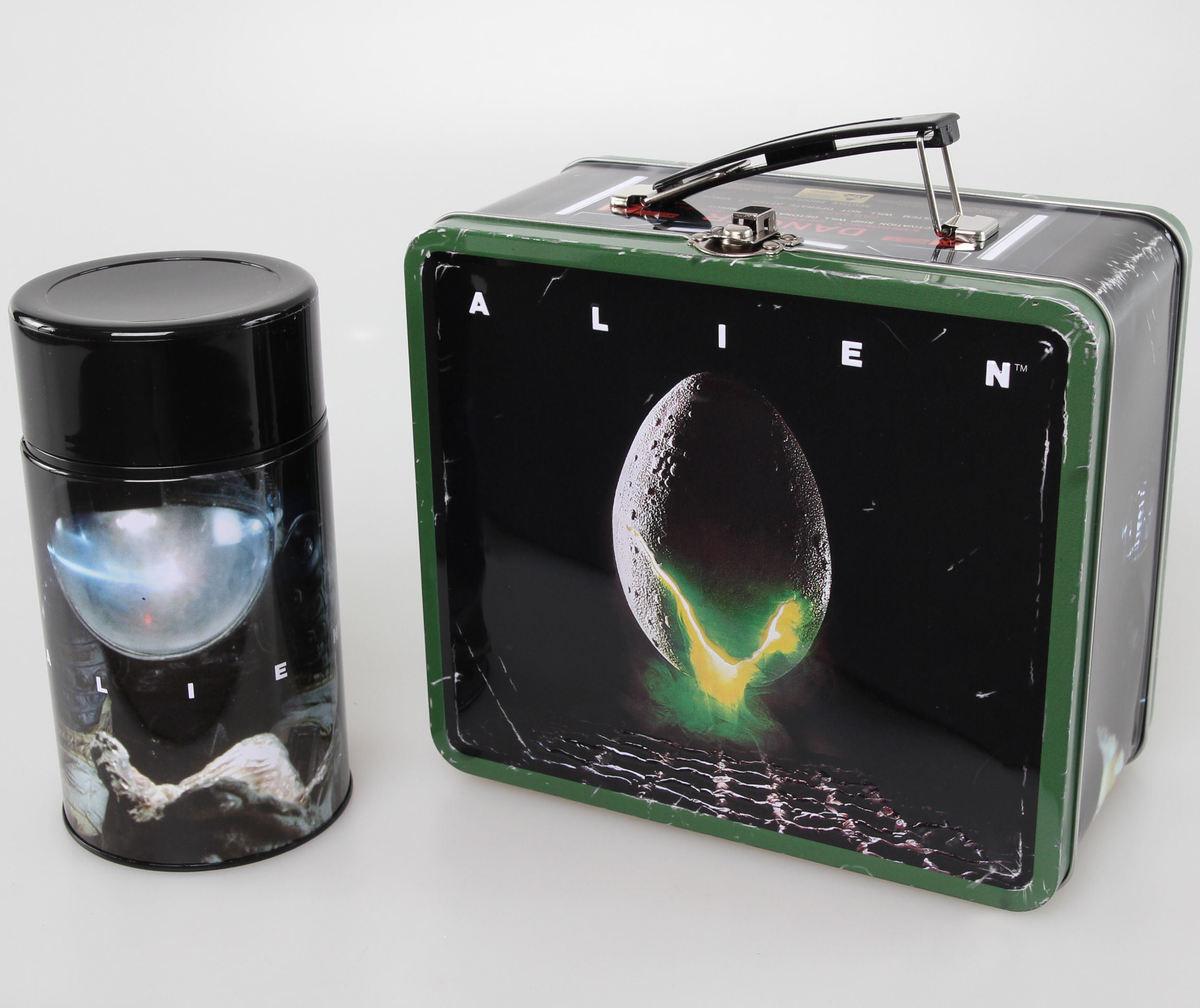 pouzdro na svačinu + termohrnek ALIEN - Egg Destressed - DIAMFEB152587