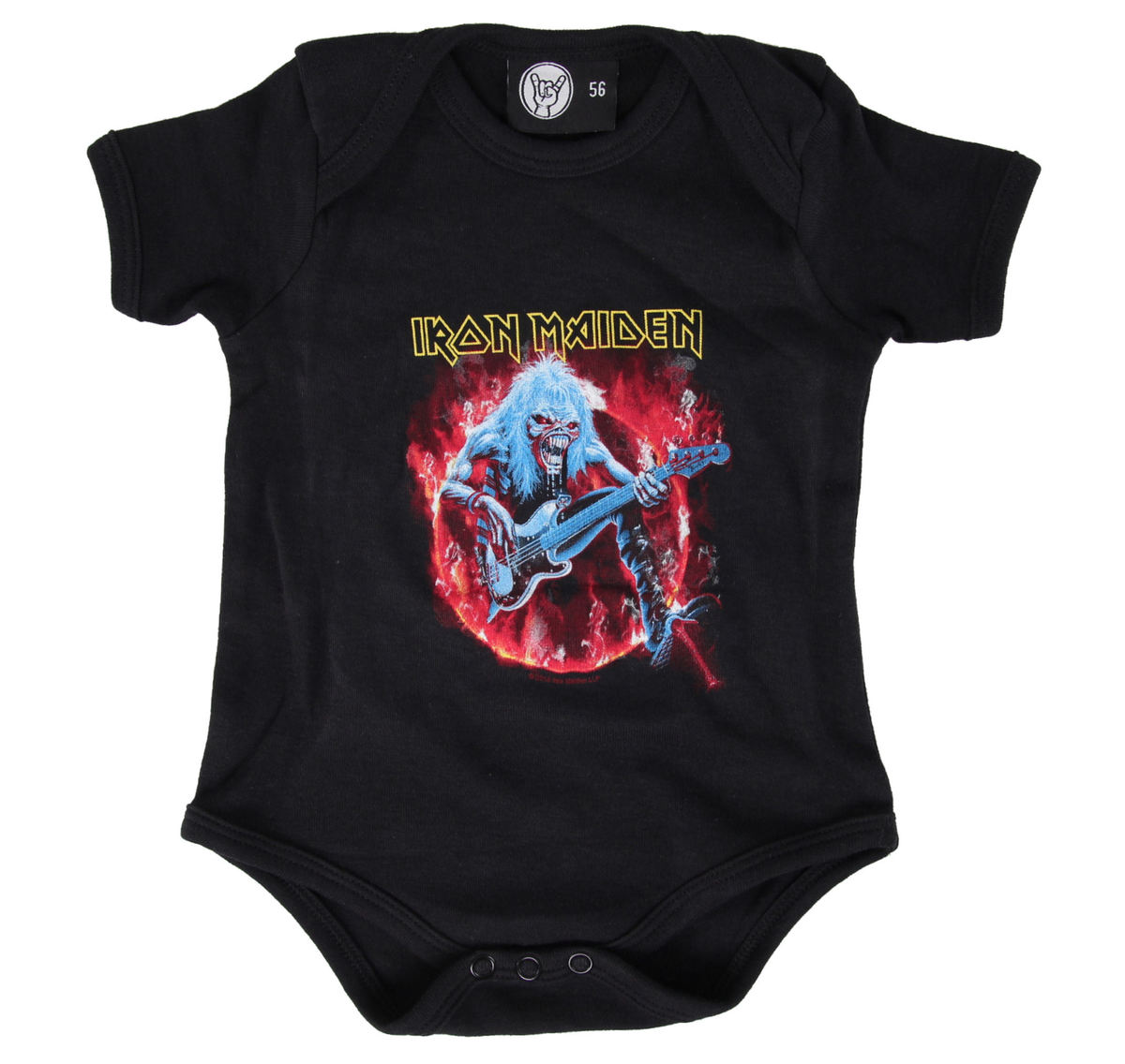 body dětské Iron Maiden - FLF - Black - Metal-Kids - MK22