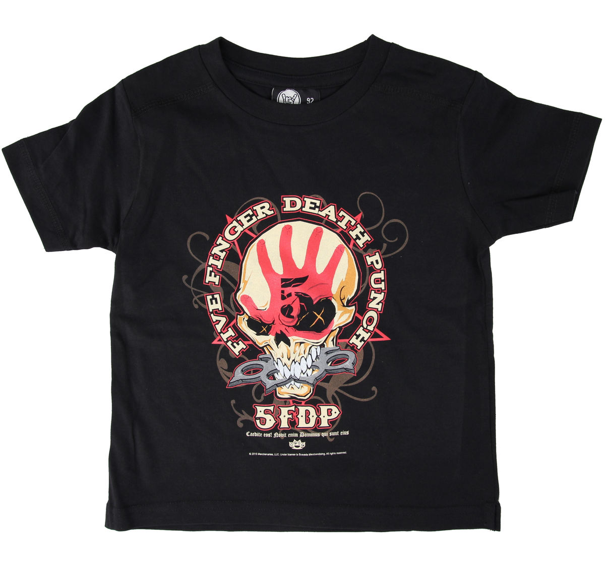 tričko dětské Five Finger Death Punch - Knucklehead - Black - Metal-Kids - MK50