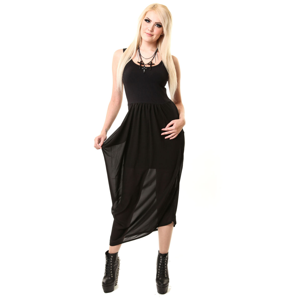 šaty dámské VIXXSIN - Misery - Black M