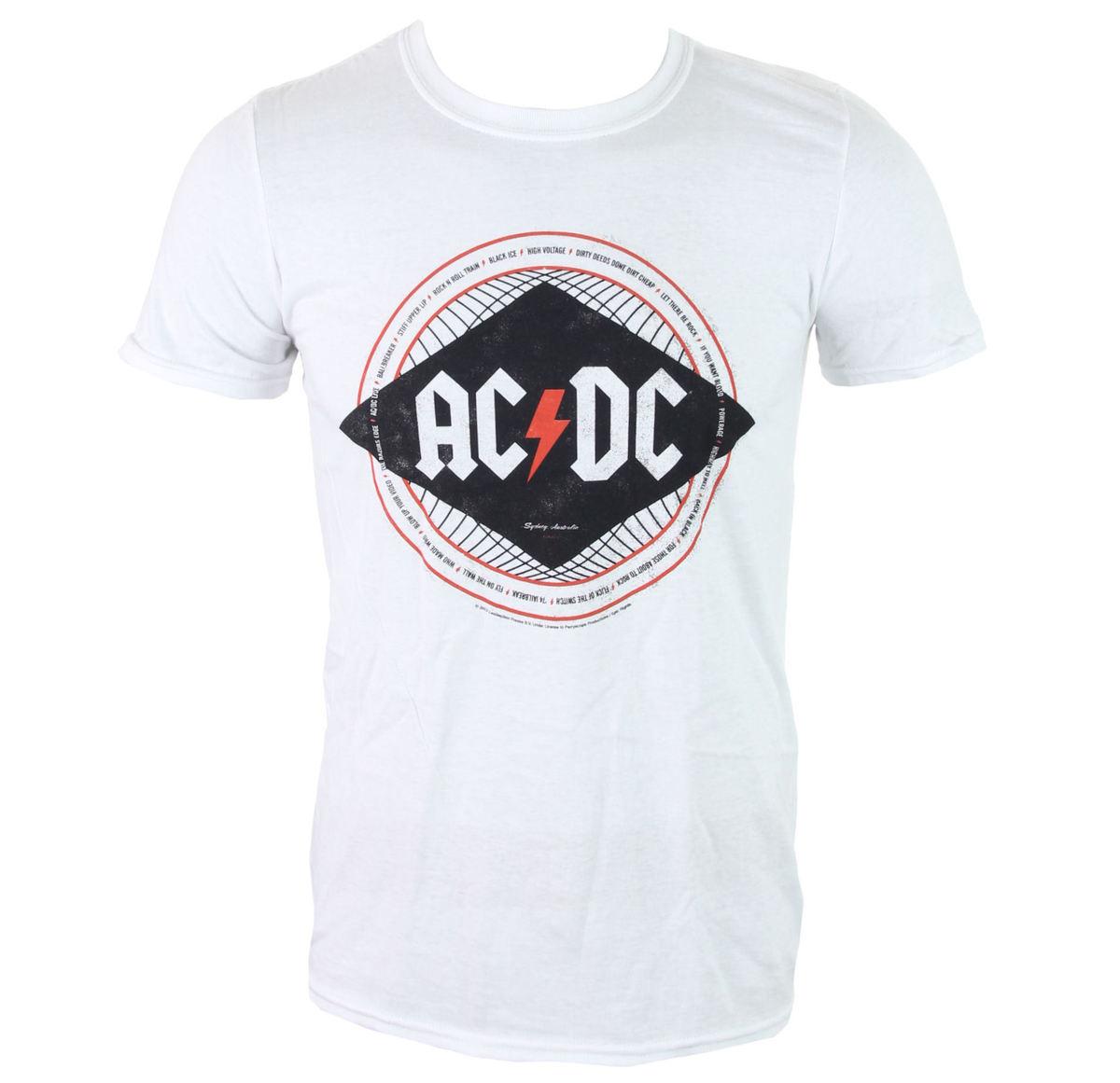 tričko pánské AC/DC - Diamond - LIVE NATION - PE12481TSWP