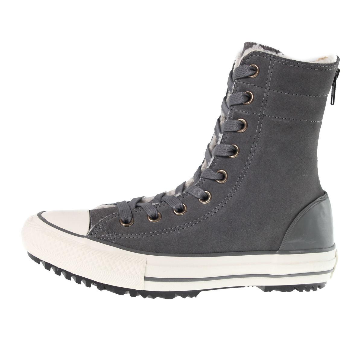 boty dámské zimní CONVERSE - Chuck Taylor AS Hi-Rinse Boot - C549595